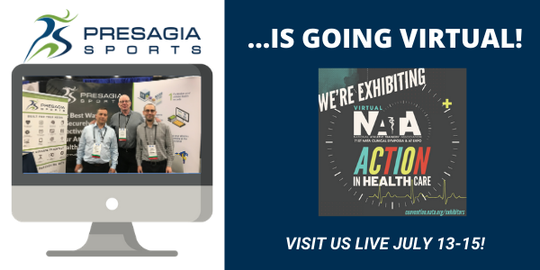 Our Presagia Sports team members at last year's NATA conference