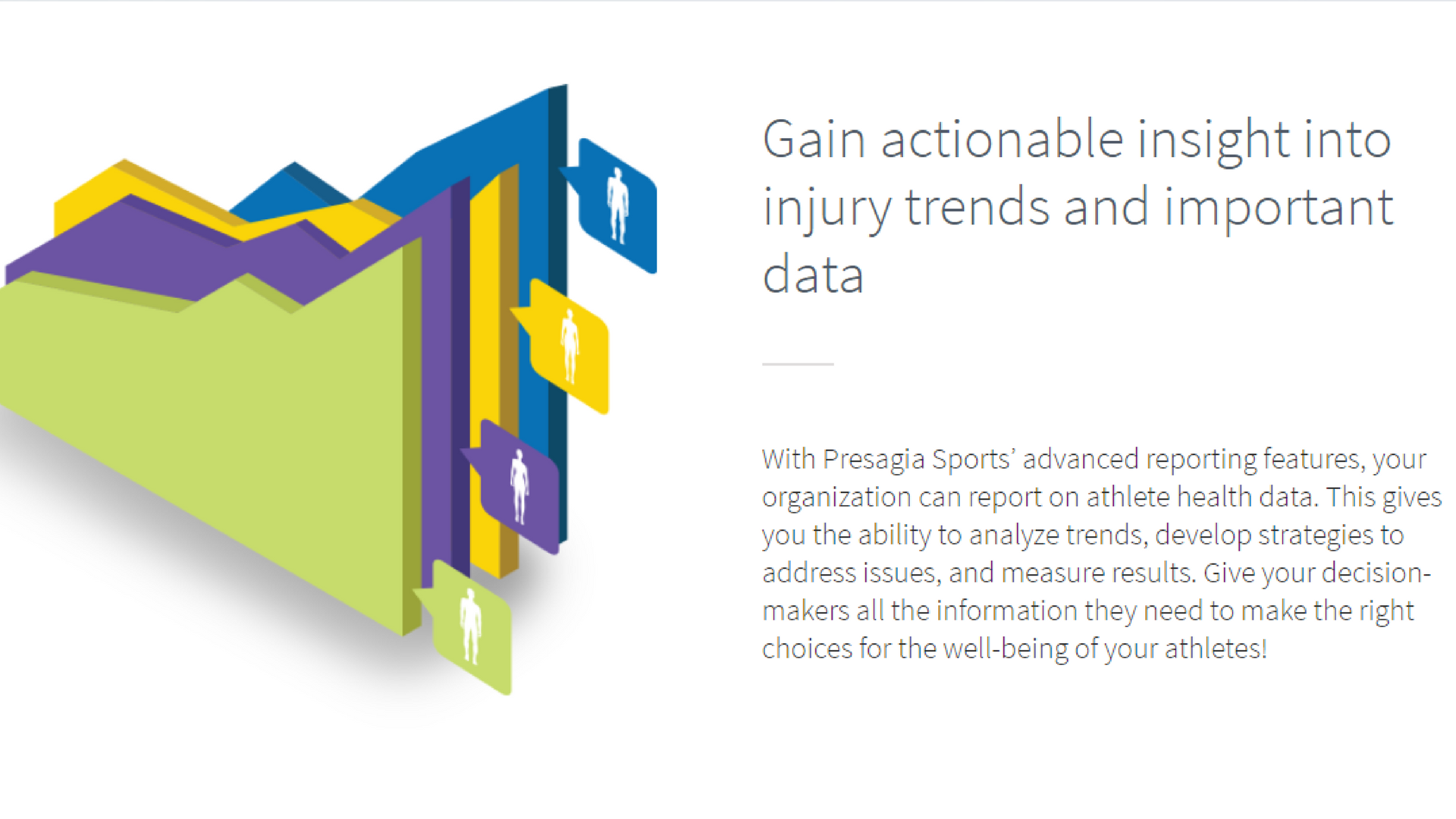 Gain Insight with Presagia Sports Reporting tools